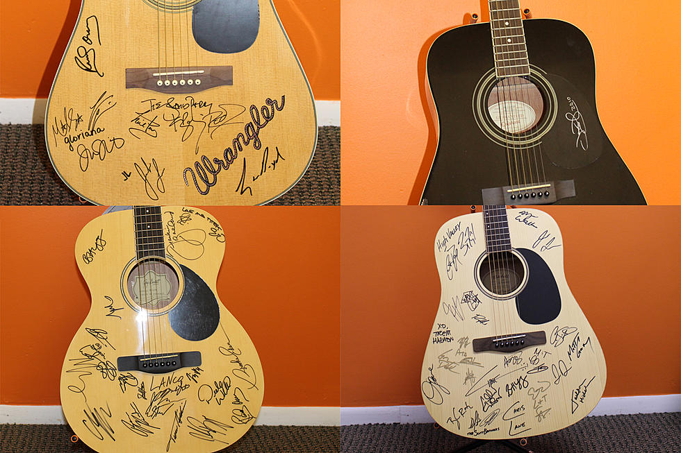 Win an Autographed Guitar NOW