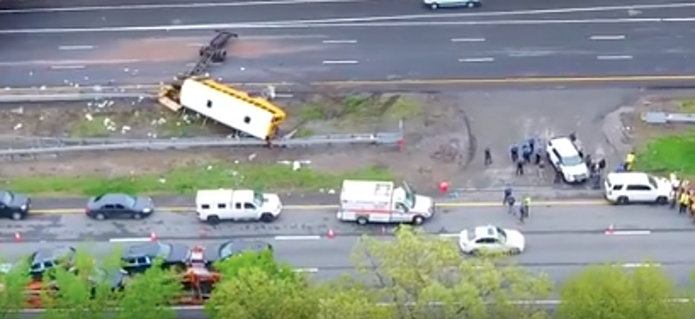 NJ School Bus Crash Leaves Student & Teacher Dead