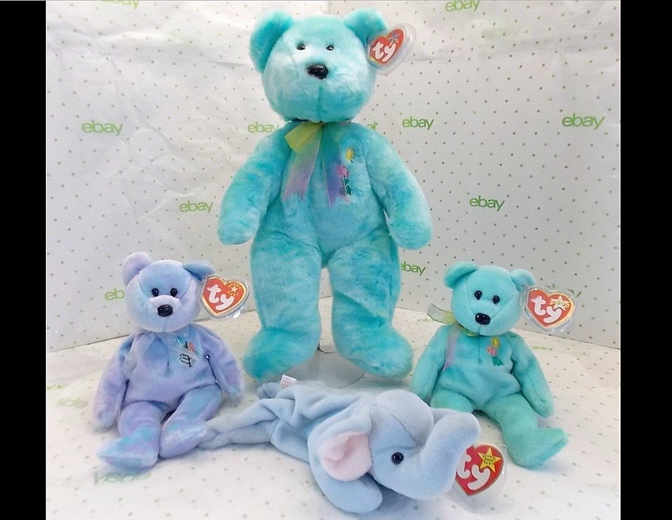 Five Beanie Babies With A Combined Worth Over 1 Mil