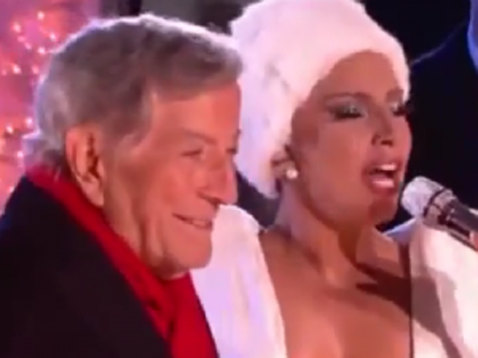 Lady Gaga and Tony Bennett's Christmas Duet [VIDEO]