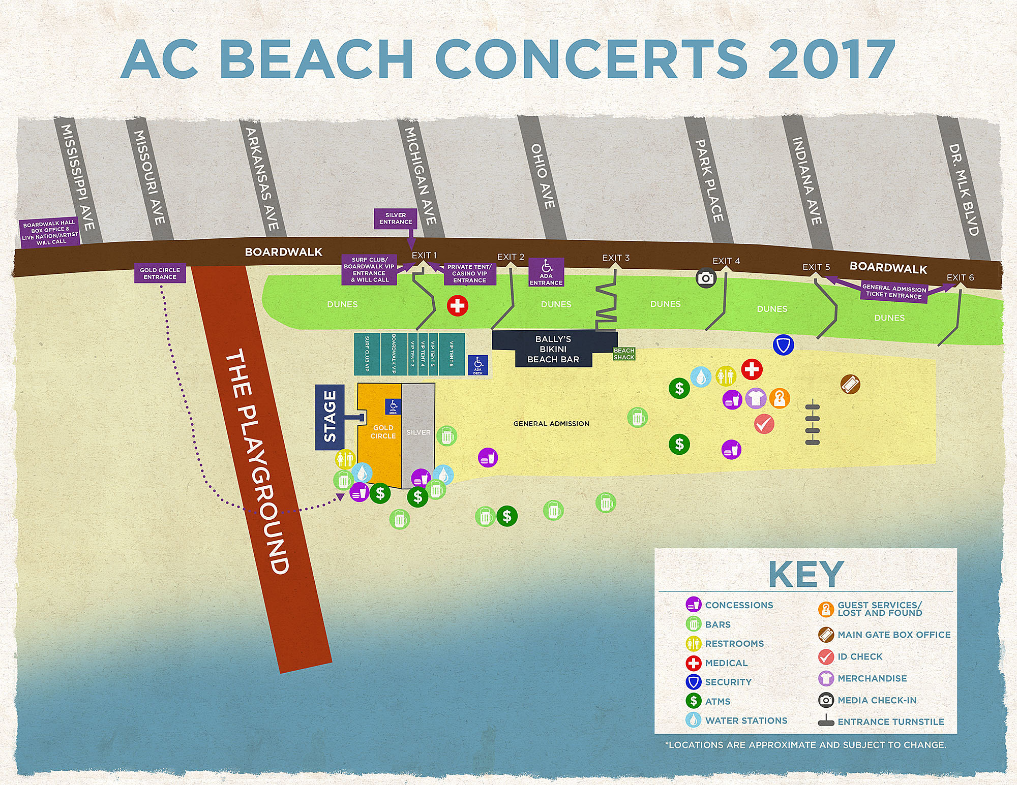 Everything We Know About The 2017 Atlantic City Beachfest Concert Series So Far