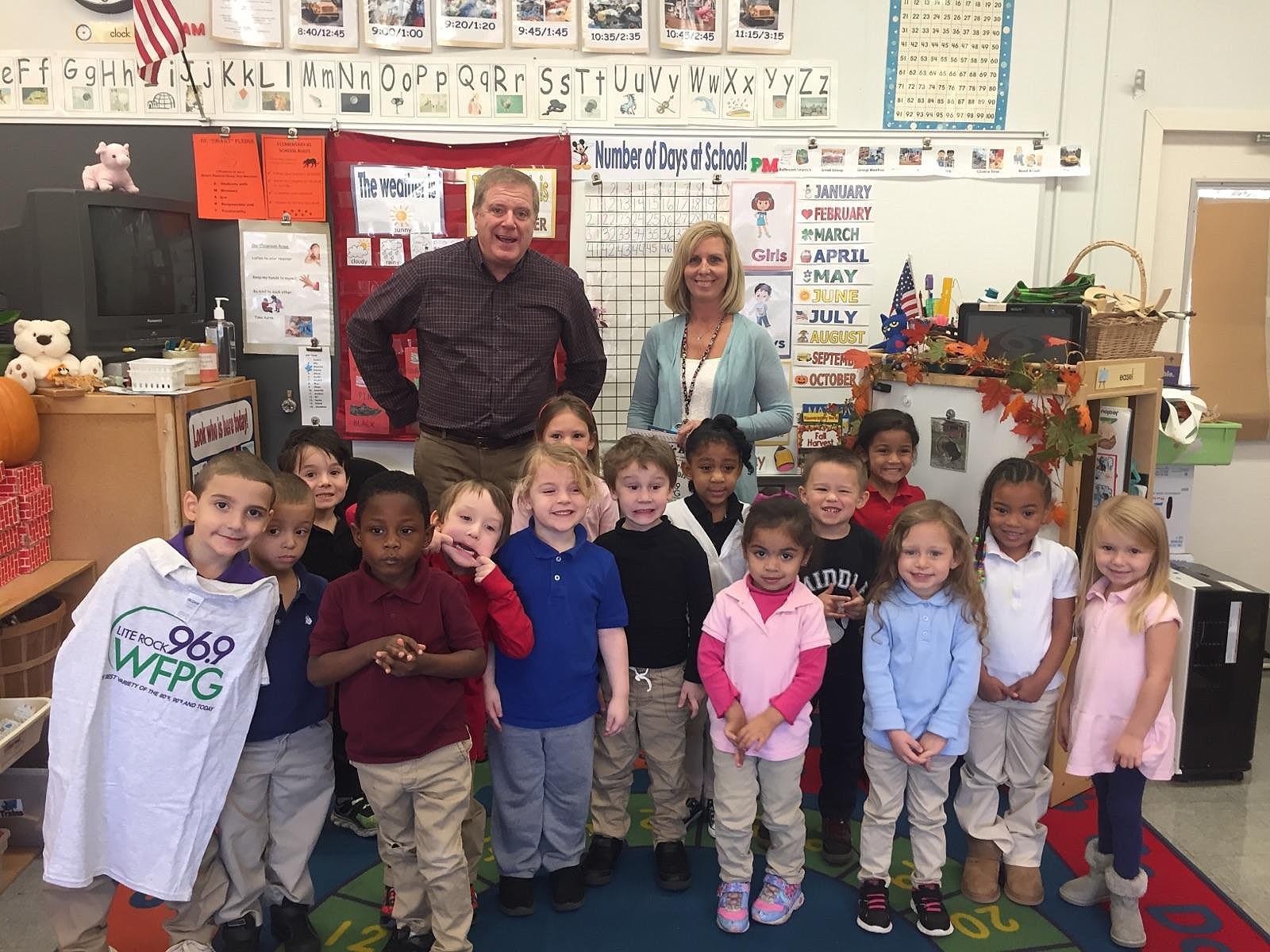8f50b40257 Middle Twp Elementary Pre-K Kids Congratulate Teacher  AUDIO