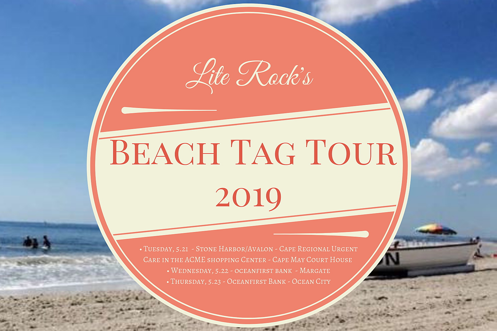 Lite Rock S Free Beach Tag Tour 2019