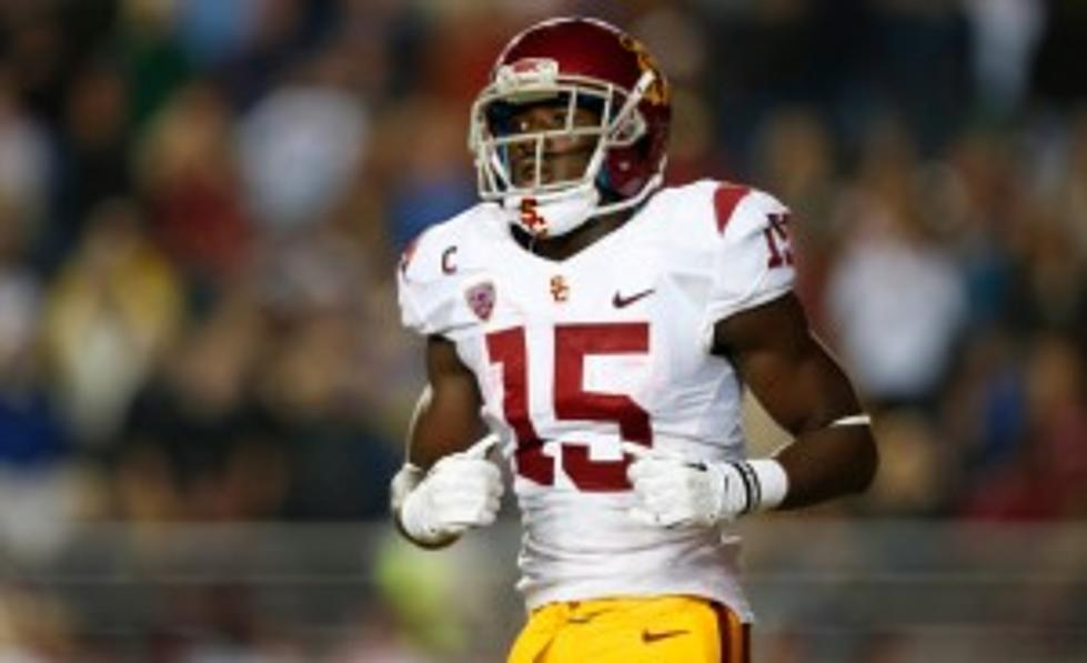 brand new 4ad34 f0de9 Eagles Select USC Wideout Nelson Agholor With No. 20