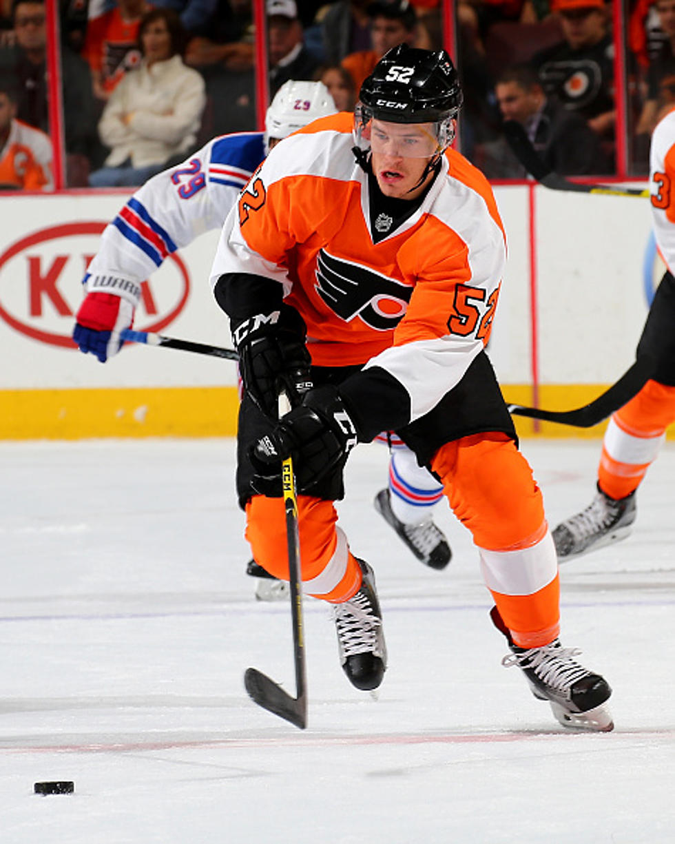 on sale da59d c76f5 Flyers Send Forward Nick Cousins to Coyotes
