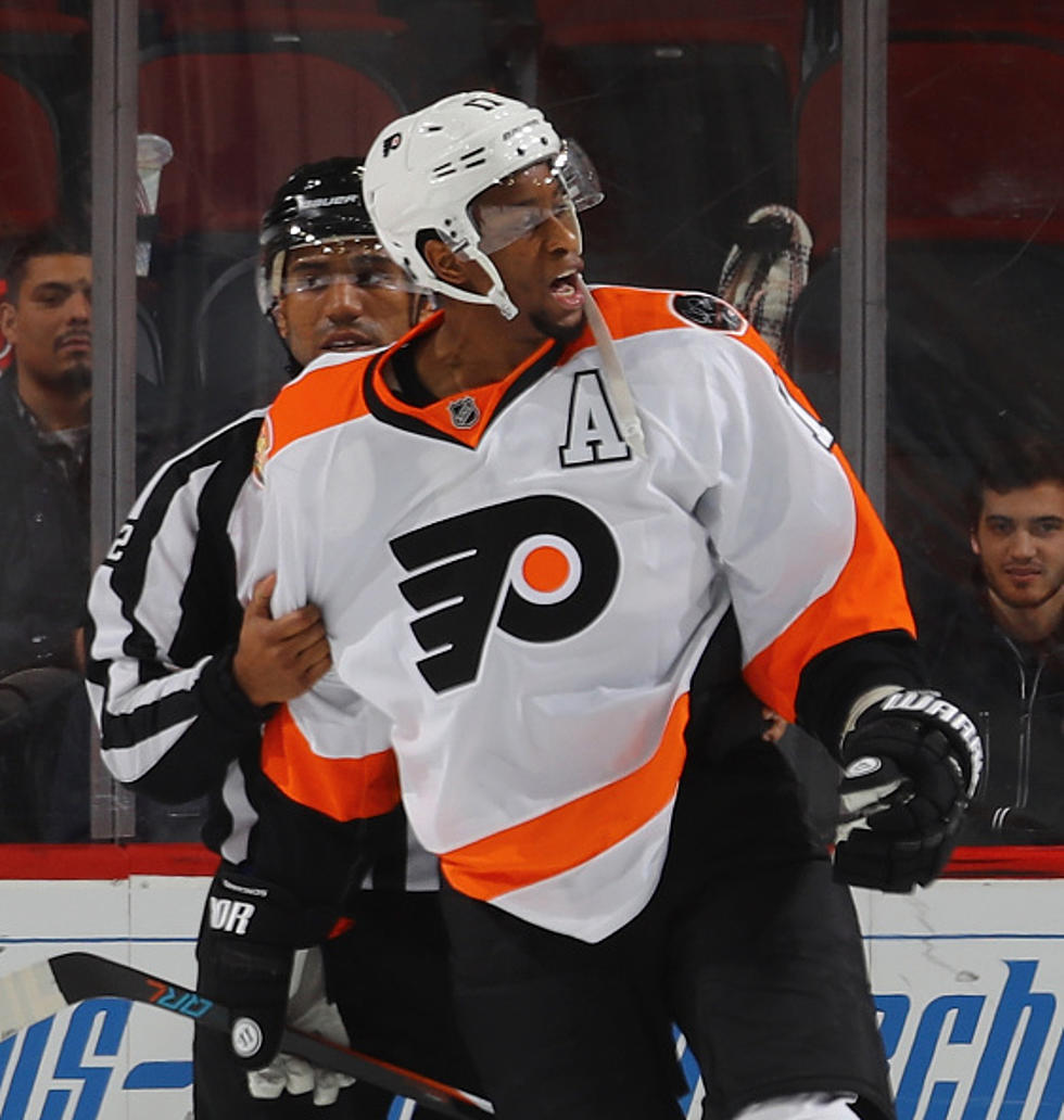 new concept 9a430 cbd69 Flyers Lone All-Star Wayne Simmons Exceeding Expectations