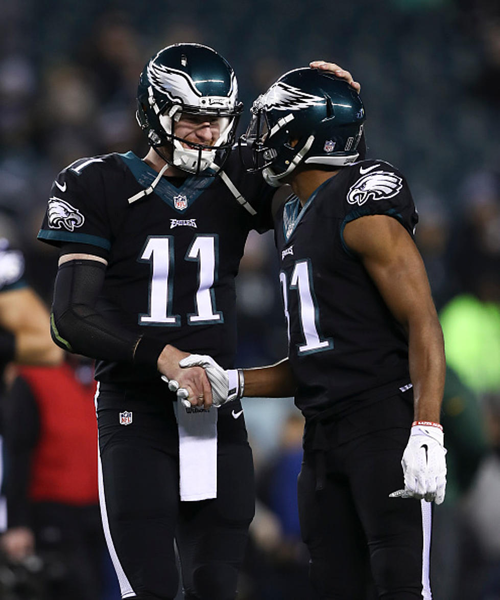 the latest cb8aa 1d71a Wentz Laments the Loss of Jordan Matthews