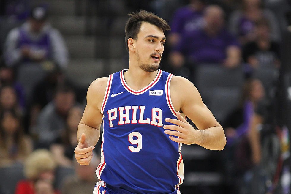 online store a3eca f8faf Dario Saric Ruled Out with Elbow Injury as Sixers Face Nets