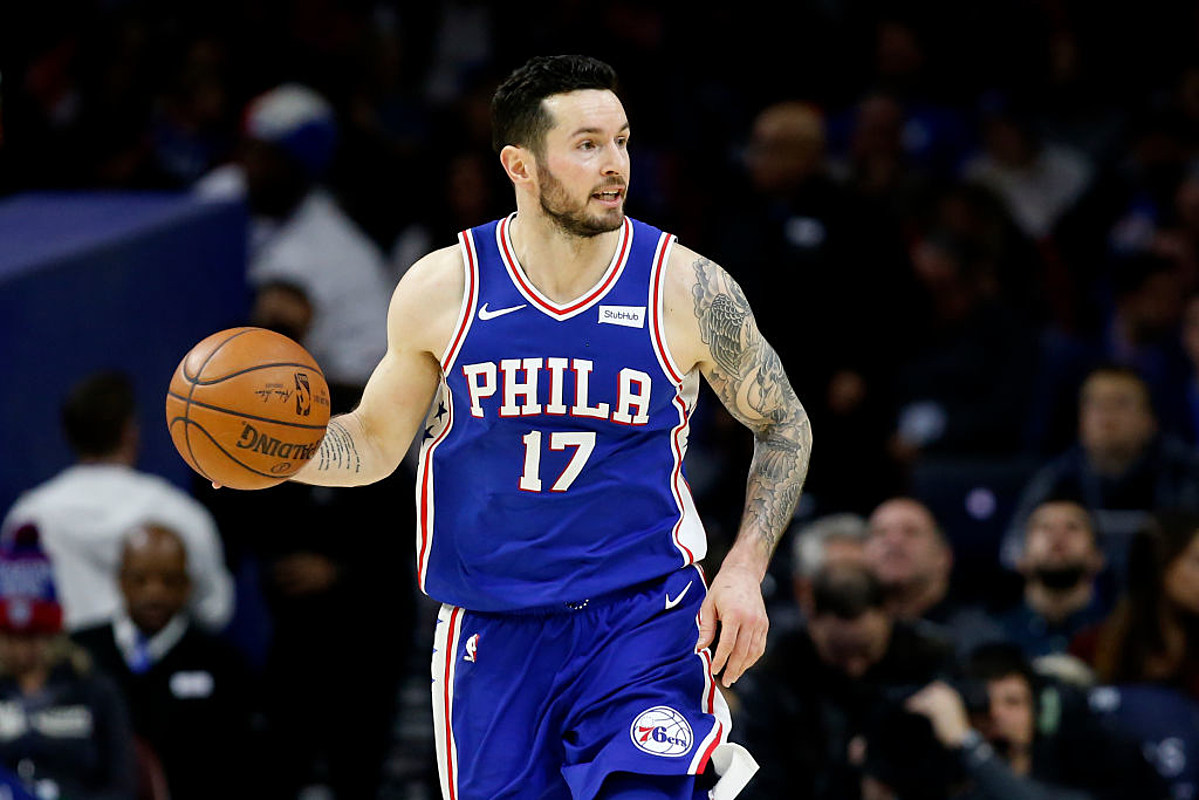 innovative design af31a 25949 JJ Redick's Days With the Sixers Officially Comes to an End