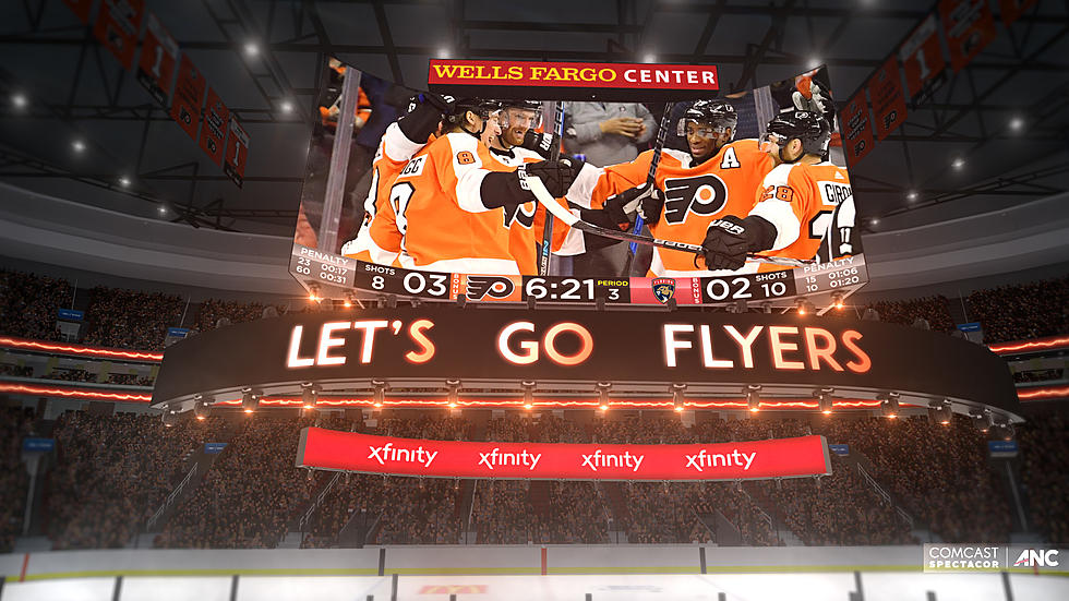 Wells Fargo Center To Feature 1st Kinetic 4k Scoreboard In 2019