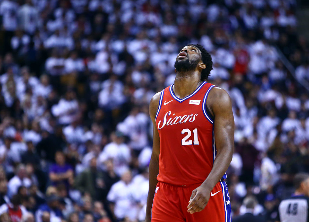 f1ced2deb2f Joel Embiid Embraces His Lowest Point of the 2018-2019 NBA Season