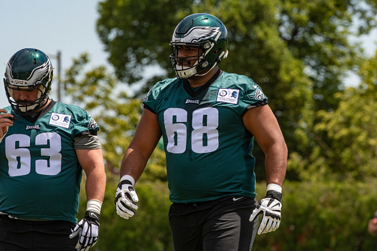 hot sale online 50b4f a0ba7 Five Thoughts on the Eagles First Depth Chart