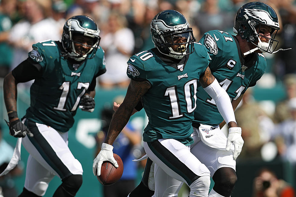 hot sale online b9bdb 50cfe Eagles Rebound From Slow Start to Rout Redskins