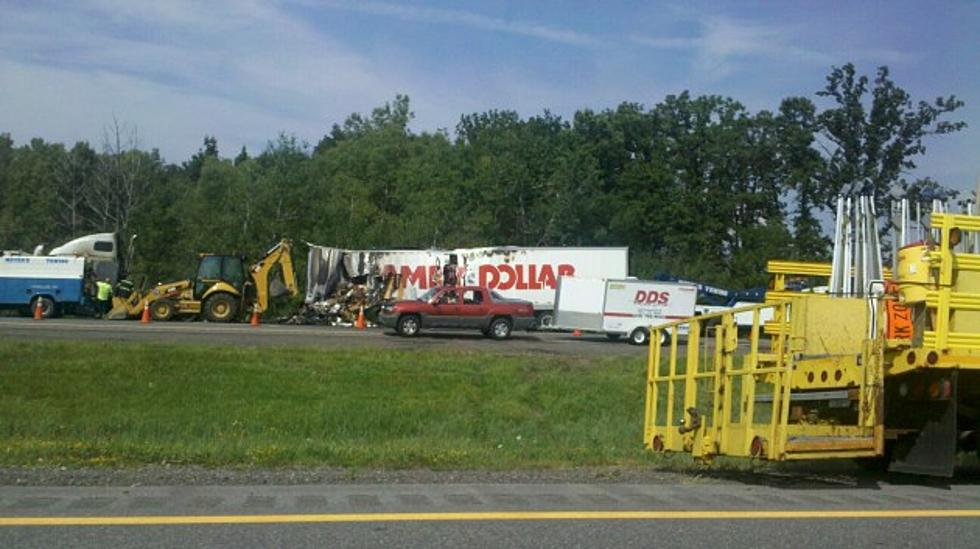 Traffic Alert: New York State Thruway Blocked Between