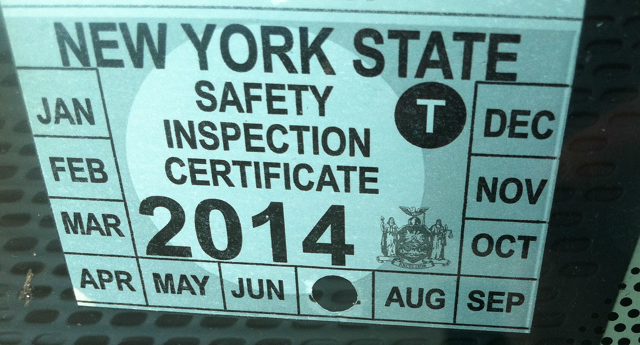 Could New York Do Away With Vehicle Inspection Stickers