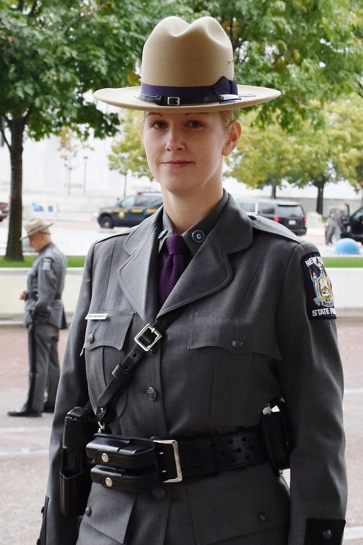 CNY Women Make State Police History