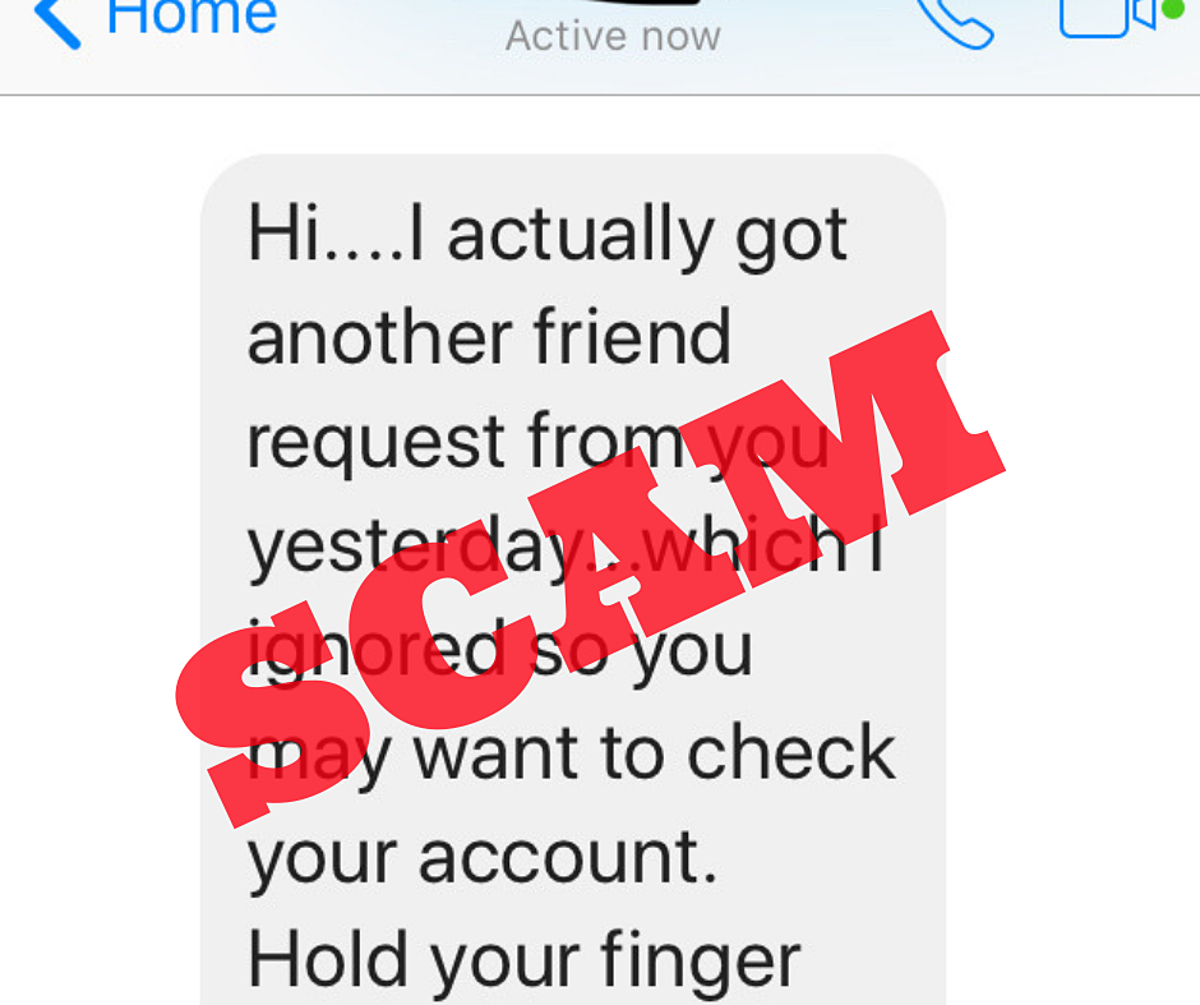 New Facebook Scam: Your Account (Probably) Wasn't Hacked