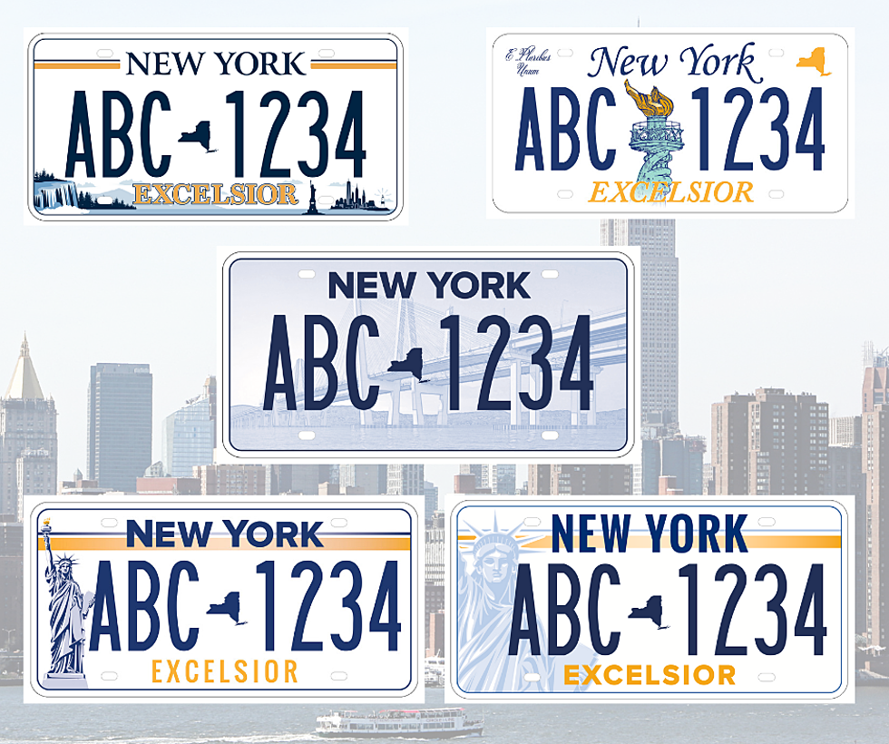Check Out the Winning Design for the New NY State License Plate
