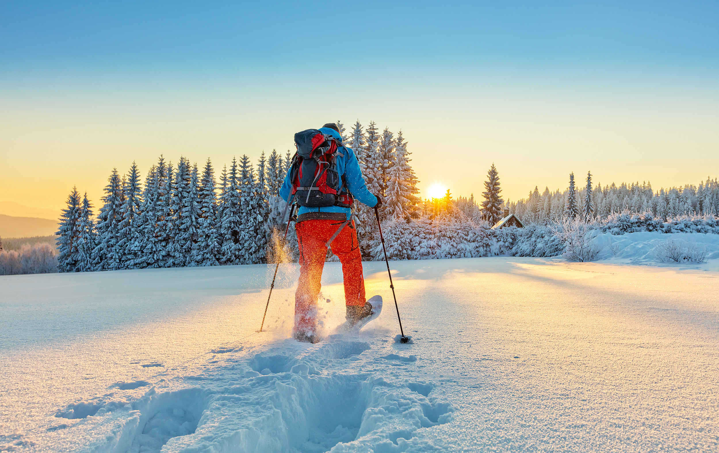 Rent Snowshoes And Skis From The City of Oneida Parks And Rec
