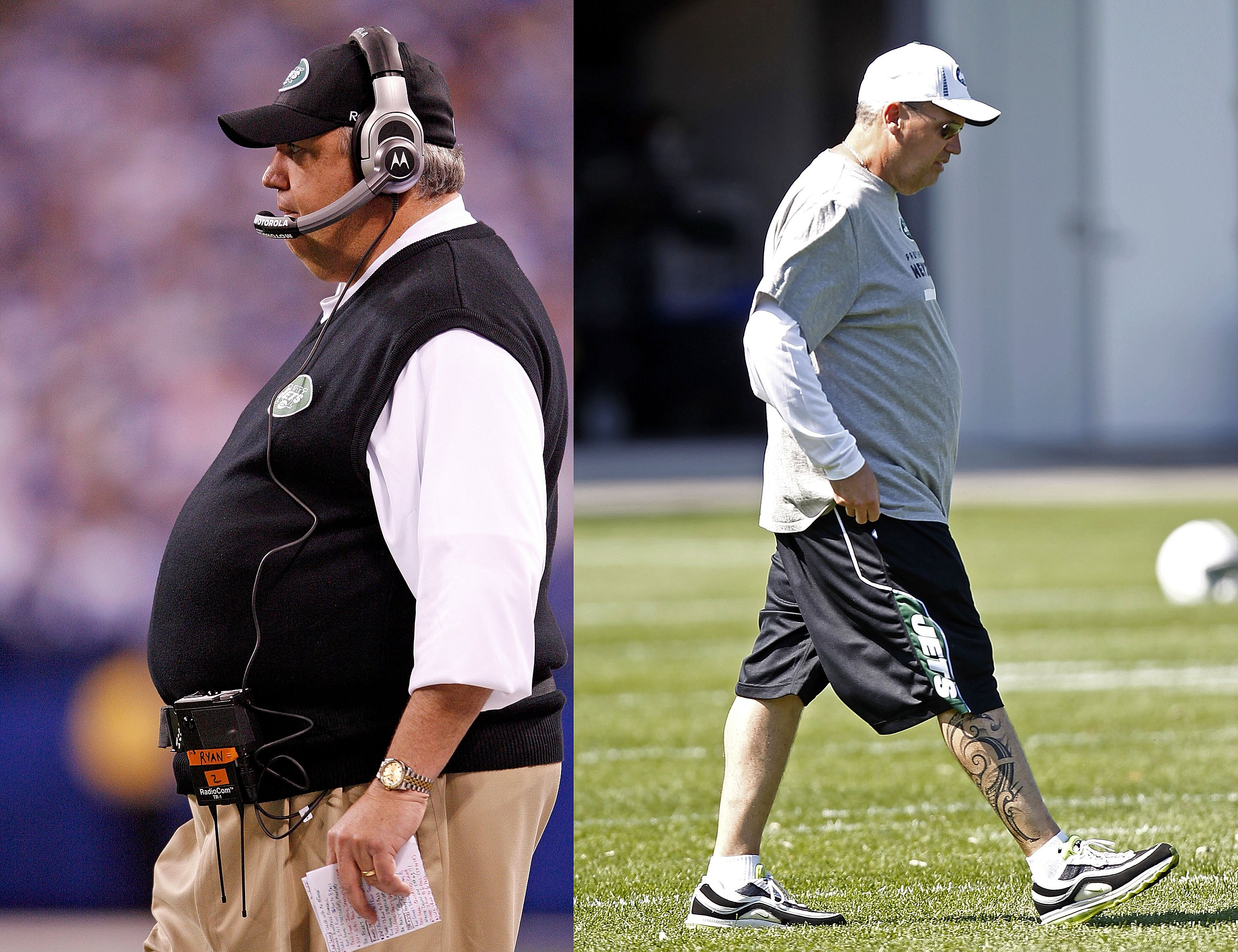 Cum a scăpat Rex Ryan peste 100 de kilograme