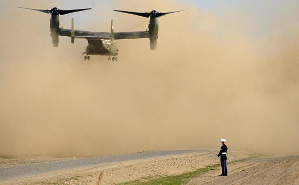 U S  Marine Osprey Crashes in Hawaii, One Dead, 21 Injured