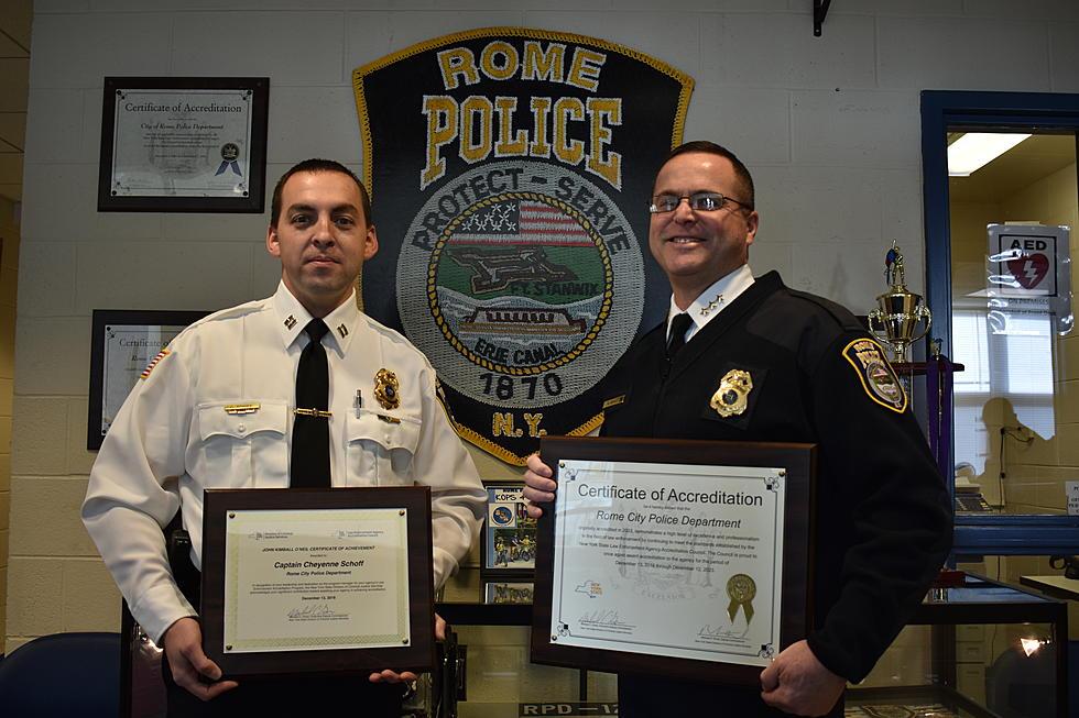 Rome Police Department >> Rome Police Department Receives Reaccreditation