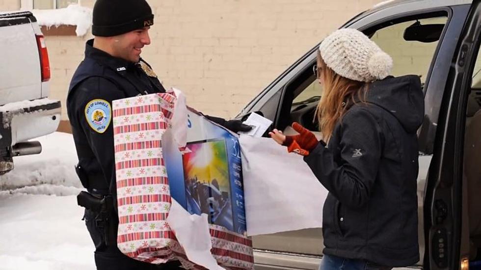 Free Beer & Hot Wings: Lowell Police Officers Surprise