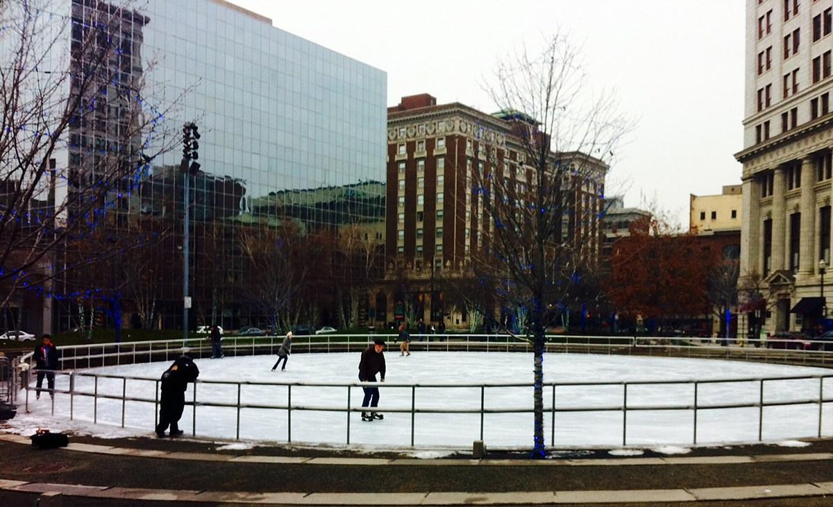 Ice Skating Starts At Rosa Parks Circle Downtown This Friday