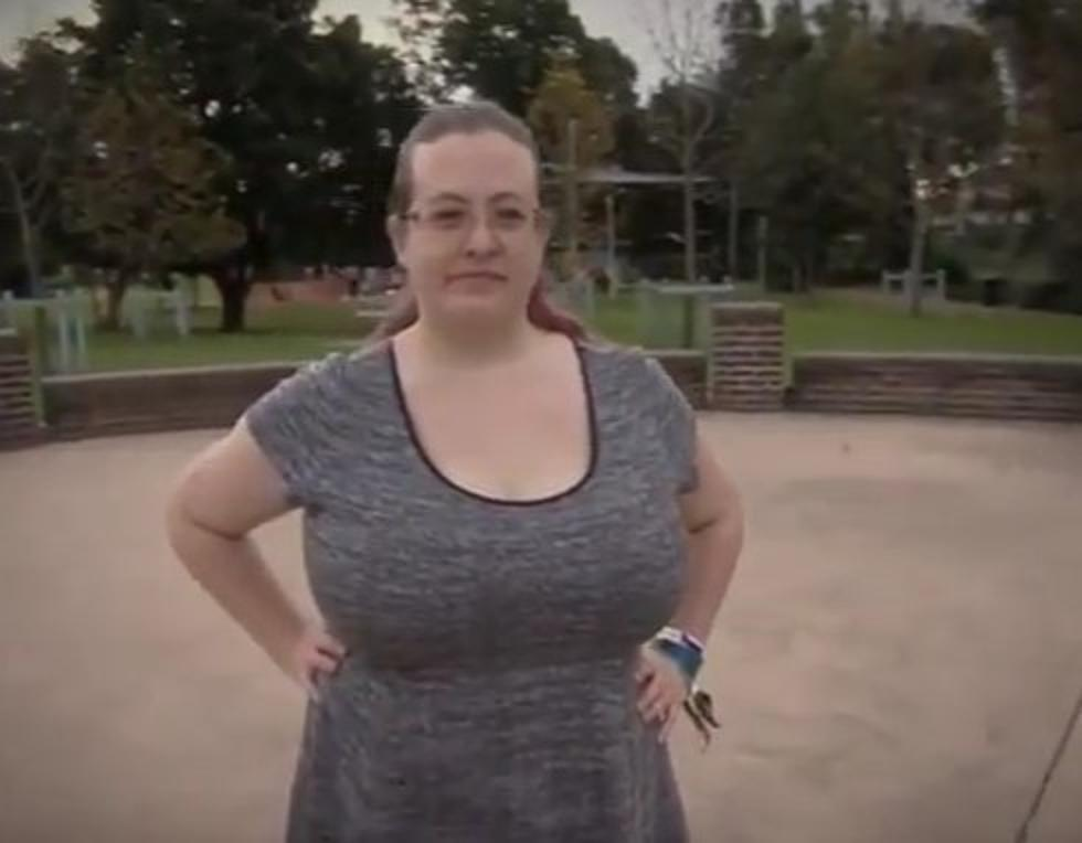 Australian Woman on Welfare Because of Her Big Breasts [Video]