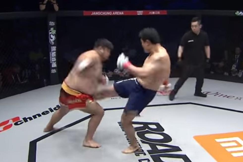 MMA Fight Ends In Seven Seconds After A Kick To The Nuts