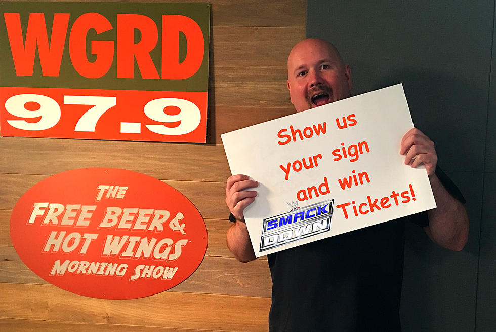 Win Ringside WWE Smackdown Tickets from WGRD