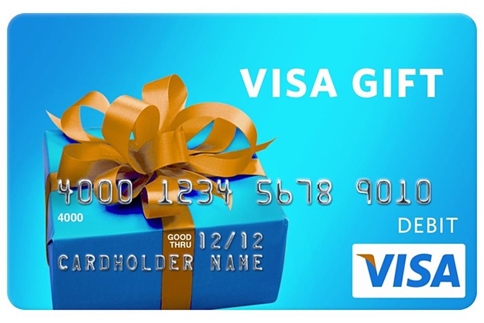 Win A $13 Visa Gift Card