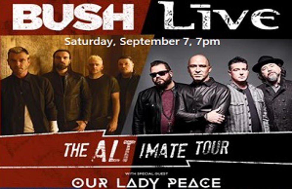 Win Tickets to see Bush, +Live+ and OLP at the Allegan