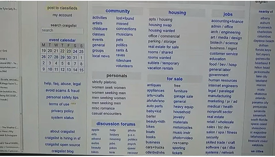 How to find someone on craigslist personals