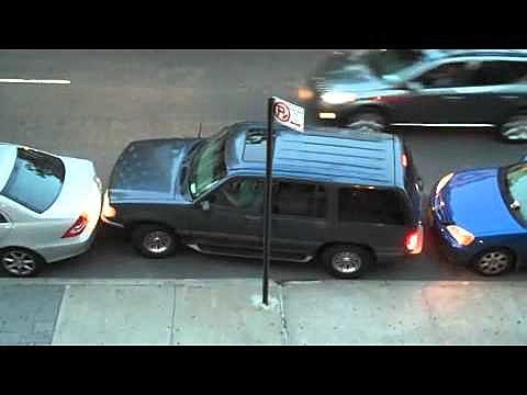 michigan drivers test parking