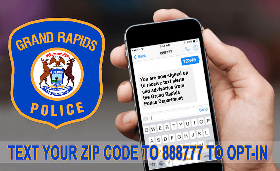 Receive Updates & Alerts from the G R  Police to Your Phone