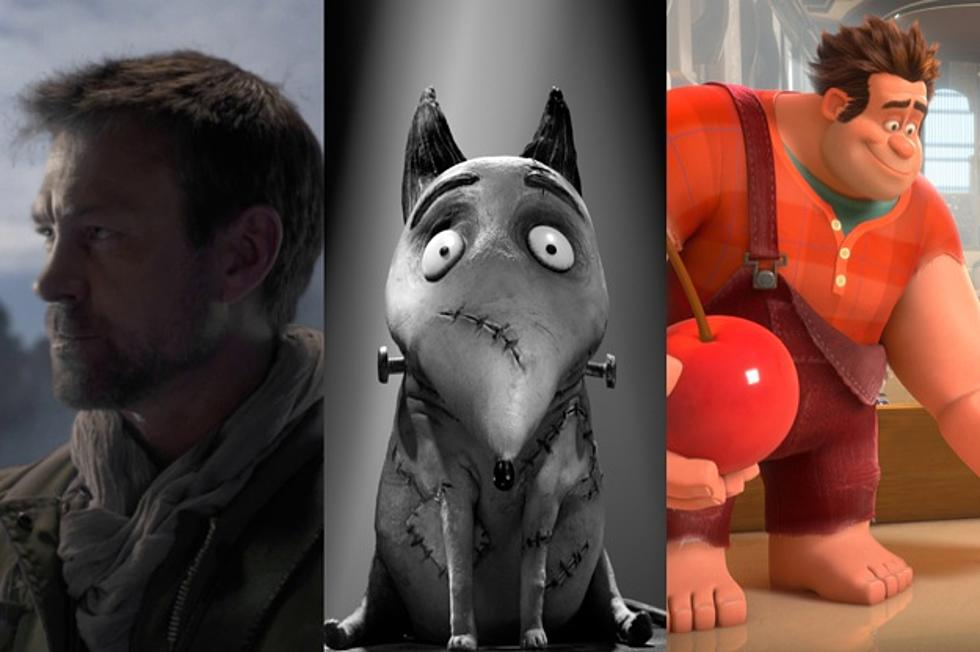 Comic Con 2012 Frankenweenie Wreck It Ralph And Defiance Posters Take Over