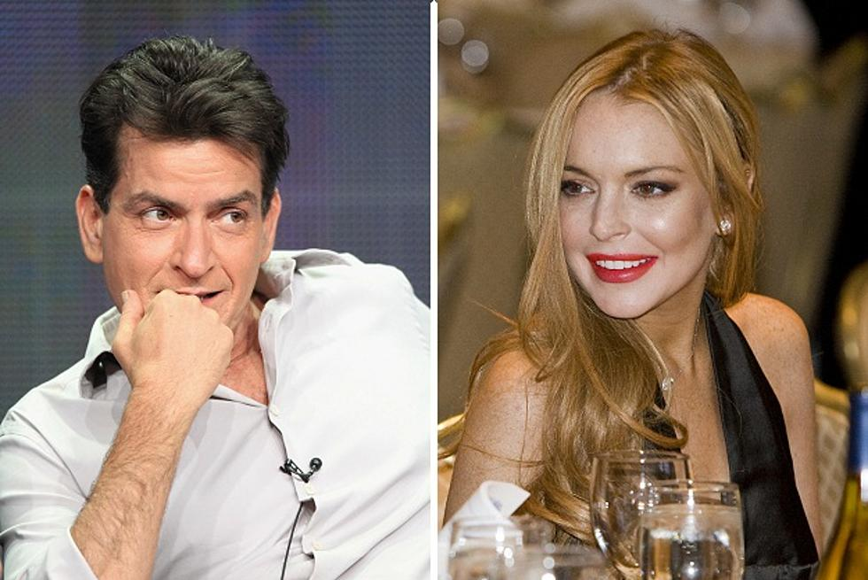 Lindsay Lohan And Charlie Sheen Sign Up For Scary Movie 5