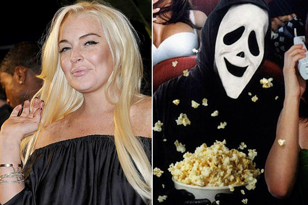 Lindsay Lohan Tries To Quit Scary Movie 5