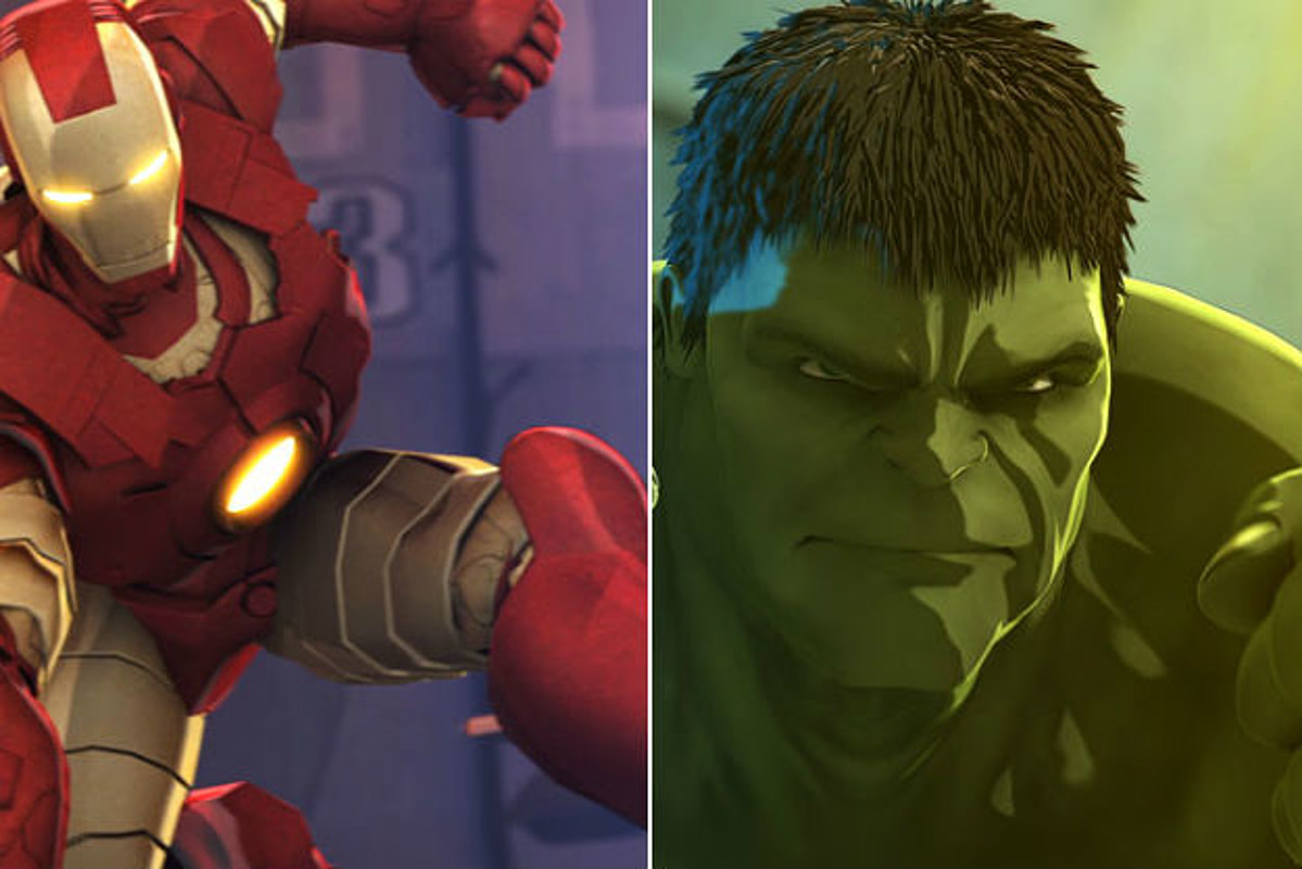 First Look: 'Iron Man & Hulk: Heroes United' Marvel Animation's First Film