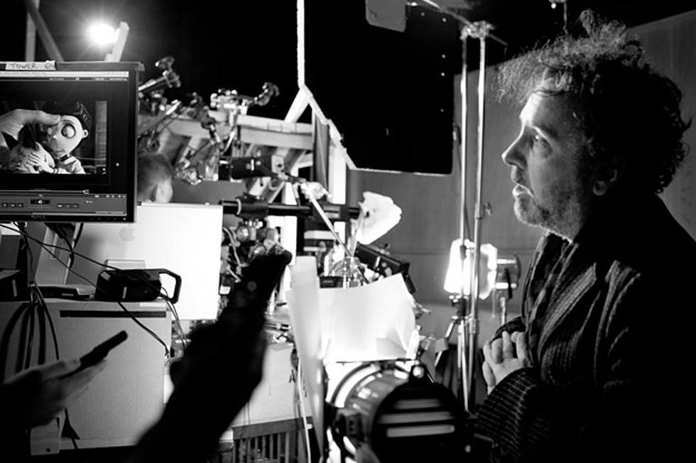 Exclusive Tour The Frankenweenie Set With Tim Burton