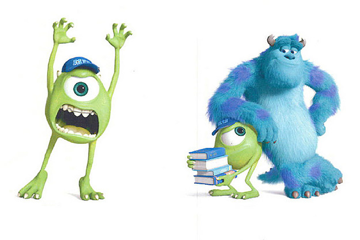 Monsters Inc 2 Character Art Meet The New Monsters