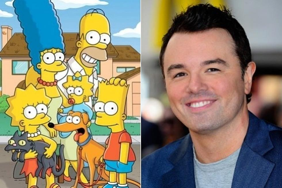 07e12c9d4b3  The Simpsons  Casts  Family Guy s Seth MacFarlane  Worlds Collide!