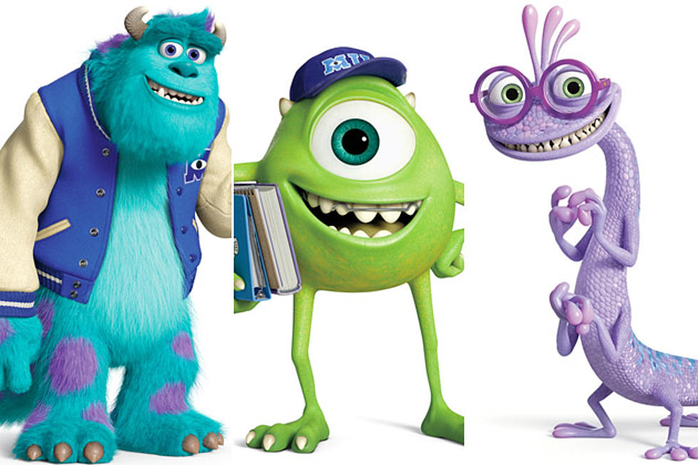 New Monsters University Character Posters