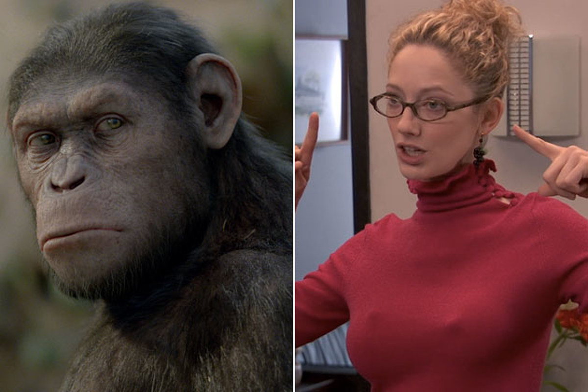 'Dawn of the Planet of the Apes' Transforming Judy Greer ...