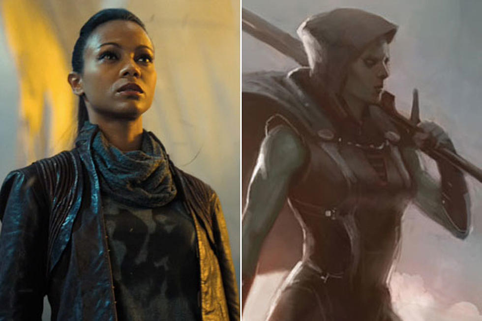 Avatar Star Zoe Saldana Joins The Cast Of Guardians Of The