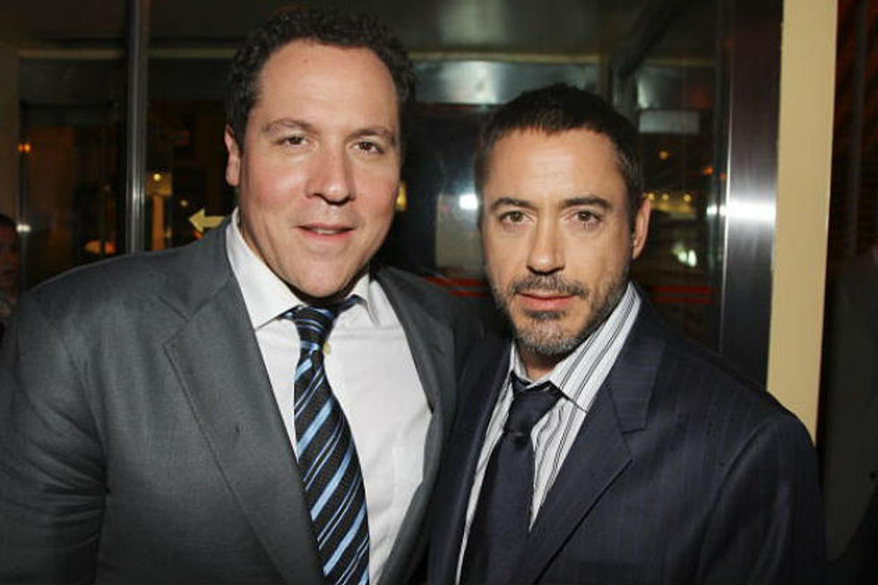 Robert Downey Jr. Reunites with 'Iron Man' Director Jon Favreau ...