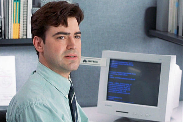 Office spaxe Cubicle The Telegraph See The Cast Of office Space Then And Now
