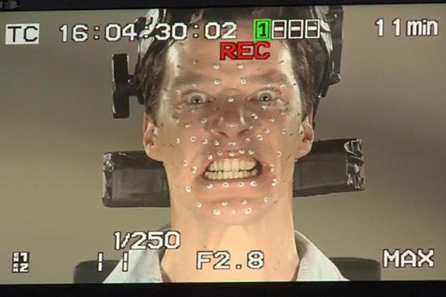 Benedict Cumberbatch for 'The Hobbit 2' Motion Capture