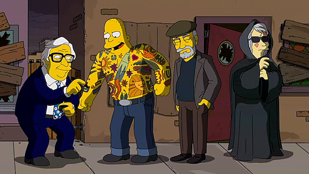 All The Horror References In Guillermo Del Toro S Simpsons
